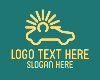 Business - Sunny Car Business logo design