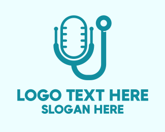 Live - Medical Podcast logo design