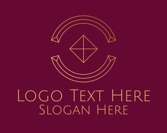Company - Minimalist Diamond Company logo design