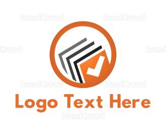 Complete - Book Check logo design