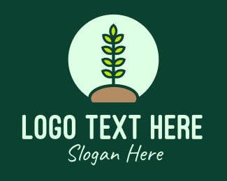 Produce - Nature Conservation Planting logo design