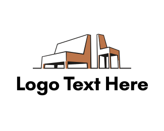 Interiors - Sofa & Chair logo design