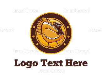 Fortune - Gold Turkey logo design