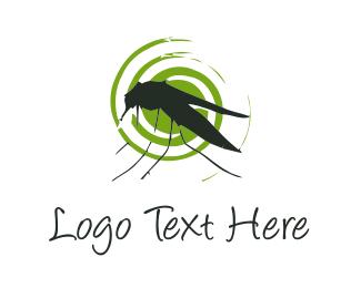 Mosquito - Mosquito Silhouette logo design