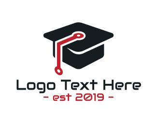 Degree - Software Academy logo design
