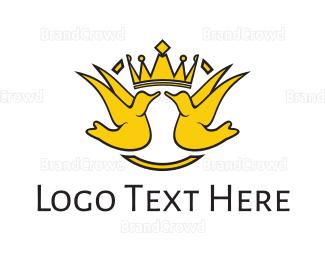 Bird - Royal Birds logo design