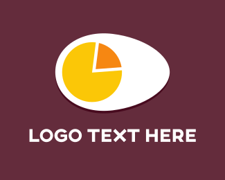 Breakfast - Egg Chart logo design