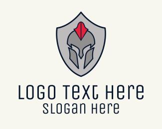Spartan - Spartan Badge logo design
