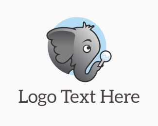 Infant - Elephant Jnr logo design