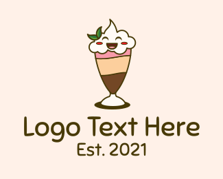 Smile - Smiling Face Smoothie logo design
