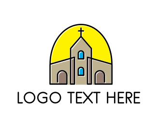 Church - Religion & Church logo design