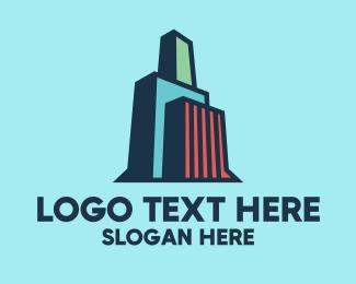 High Rise - City High Rise Building logo design