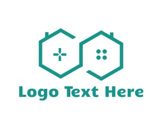 Play - Game House logo design