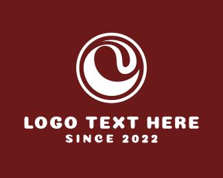 Coffee - White Wave logo design