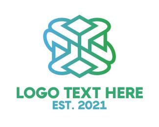 Pattern - Gradient Pattern logo design