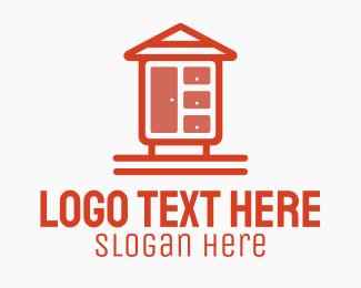 Room - Simple Home Closet logo design