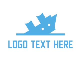 Diving - Sinking Ship logo design