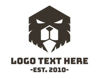 Brown Bear - Evil Bear logo design