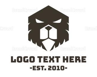 Aggressive - Evil Bear logo design