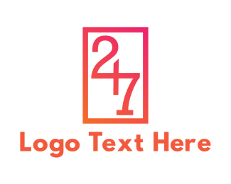 Convenience Store - Number 247 logo design