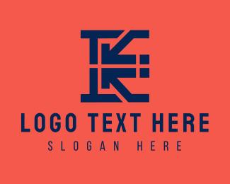 Letter K - Property Letter K logo design