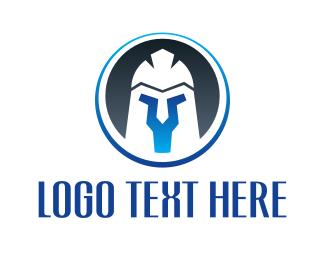 Knight - Knight Helmet logo design