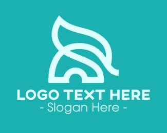 Jungle - Abstract Baby Elephant logo design