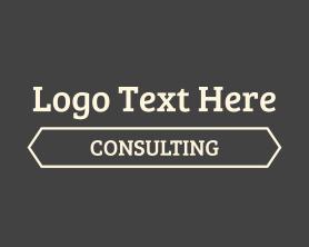 Management - Consulting Text Font Wordmark logo design