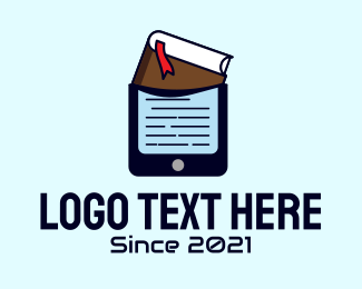 Mobile Phone - Book Mobile Phone logo design