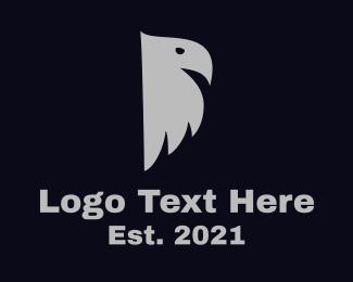"""Gray Bird Silhouette"" by LogoRU"