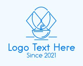 Interior - Bathroom Sink Interior logo design