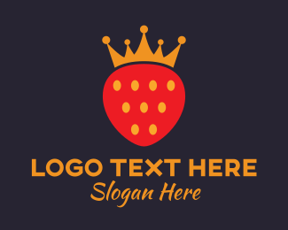 Shake - Royal Strawberry logo design