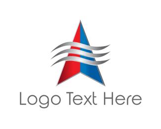 Air - Wind Direction logo design