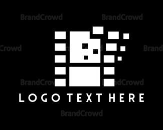 Bitmap - Pixel Movie logo design