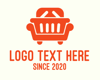 Basket - Home Furnishing Shopping Basket logo design