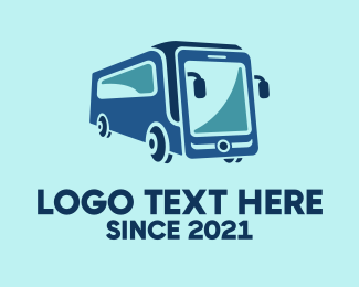 Mobile - Mobile Smart Transit Bus Van logo design