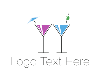 Brunch - Alcoholic Drinks logo design