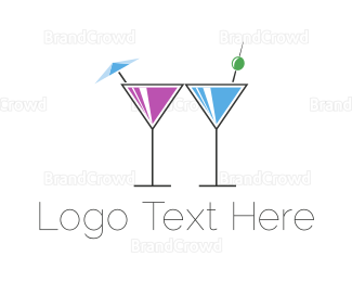 Bartending - Alcoholic Drinks logo design