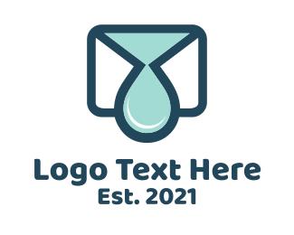 Mail - Mail Drop logo design