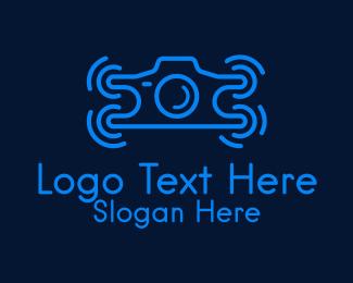 Photography - Drone Photography  logo design
