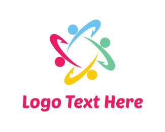 Colorful Business Group Logo