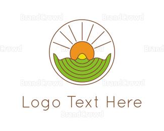 Amazing - Sunshine Circle logo design
