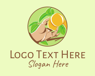 Farmers Market - Peach Tree logo design