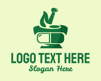 Traditional Medicine - Traditional Herbal Medicine  logo design