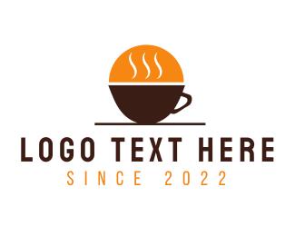 Enjoy - Morning Coffee logo design