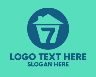 Development - House Number 7  logo design