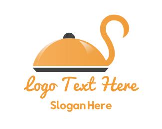 Cater - Swan Food logo design