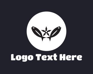 Duo - Fish Circle logo design