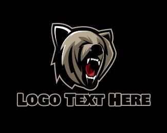 Gaming - Bear Hunter Gaming Sports logo design