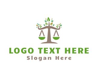 Law - Environmental Law logo design